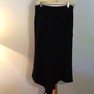 MaxMara Asymmetrical Hem Skirt, sz 8